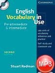 English vocabulary in use. Intermediate. Audio. Second edition. Michael McCarthy, Felicity O`Dell
