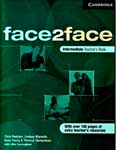 Face2face: intermediate. Teachers book. Chris Redston, Gillie Cunningham