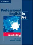 Professional english in use marketing  Cate Farrall, Marianne Lindsley